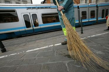 Nettoyage urbain à Grenoble