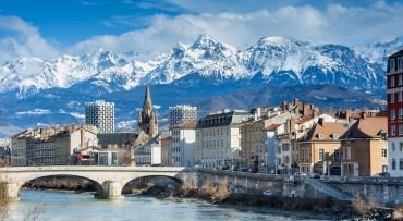 Grenoble, les quais