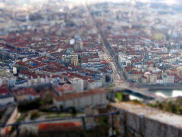 Grenoble vue de la Bastille