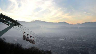 Réveil Grenoble avec pollution