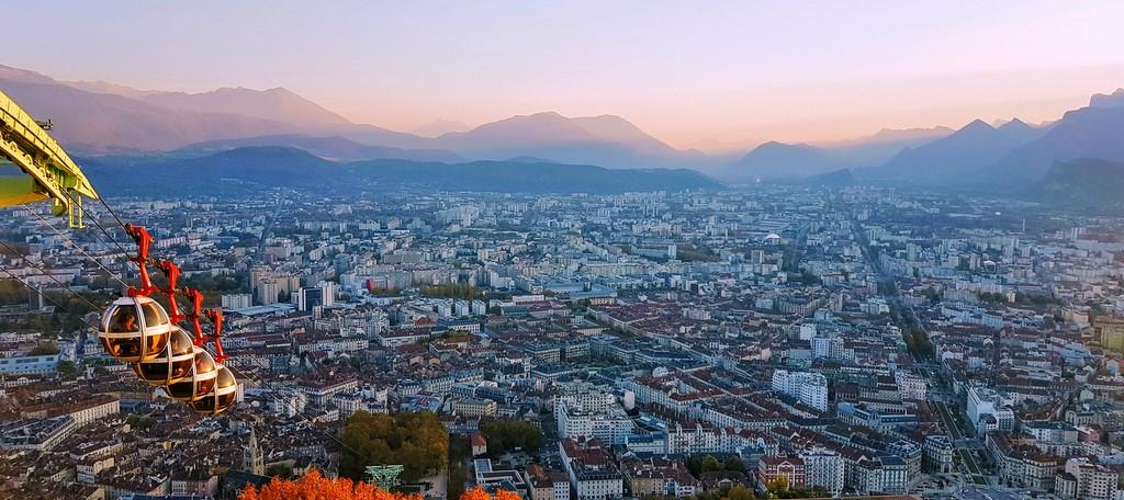 Grenoble Bastille Octobre 2017