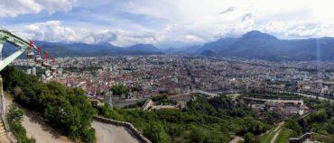 Grenoble depuis la Bastille