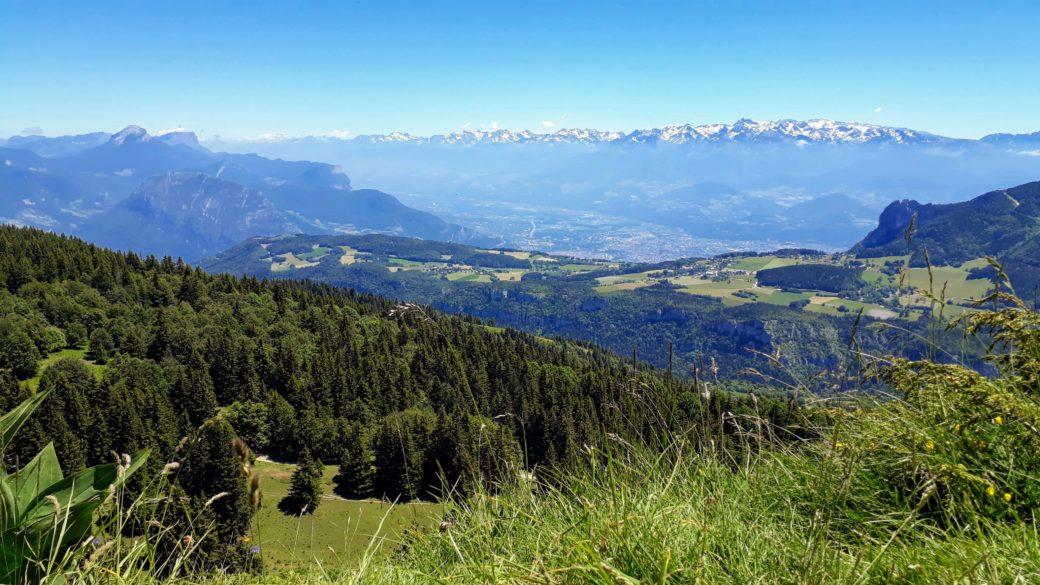 Grenoble depuis la Molière
