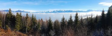 Grenoble mer de nuage